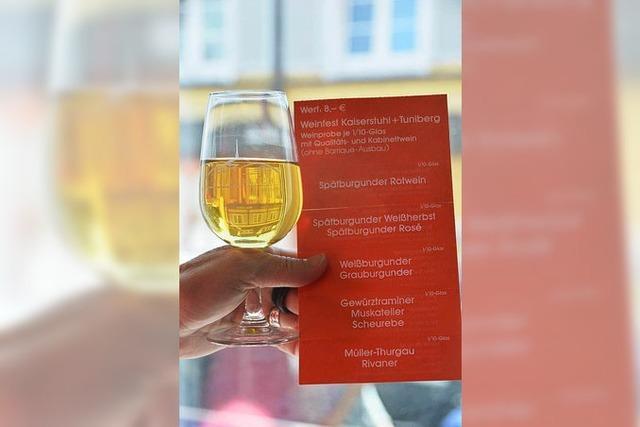 Großes Rahmenprogramm beim Breisacher Weinfest