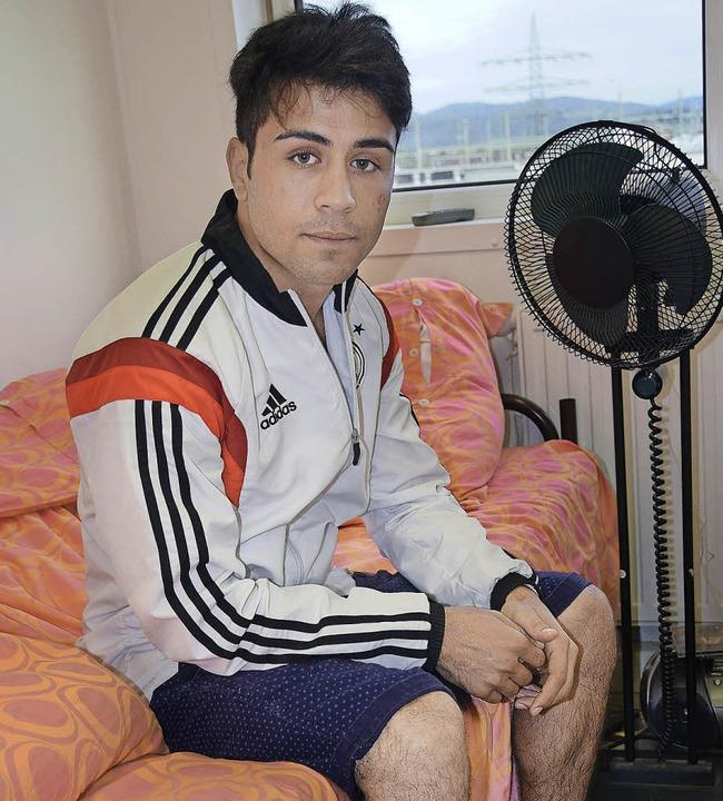 Ahmadseiar Bayat aus Afghanistan ist e...in Rheinfelden  und möchte studieren.   | Foto: Herwig Popken