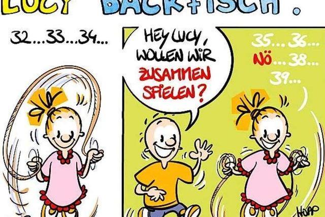 Lucy Backfisch: Seilspringen ist blöd