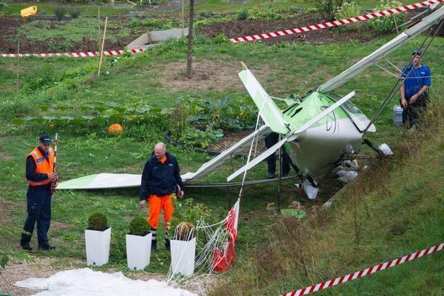 Breisgauer Kunstflieger in der Schweiz abgestürzt