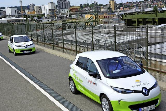 Carsharing unter Strom