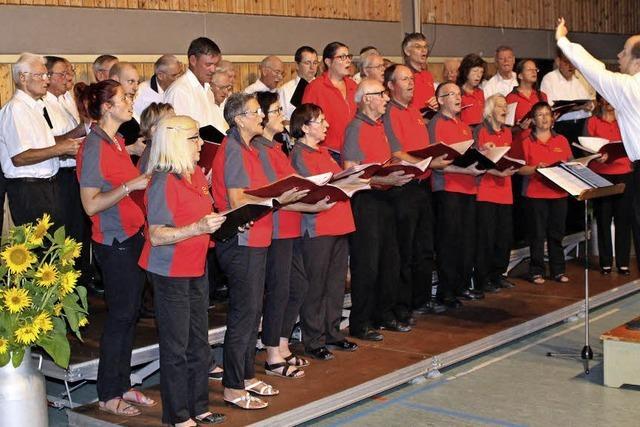 Ein Chorfestival im Kleinen