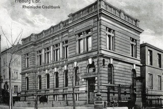 Die Rheinische Creditbank residierte einst an der Eisenbahnstraße