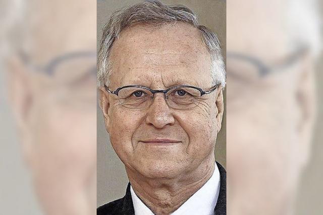 Der ehemalige Uni-Rektor Wolfgang Jäger wird 75 Jahre alt