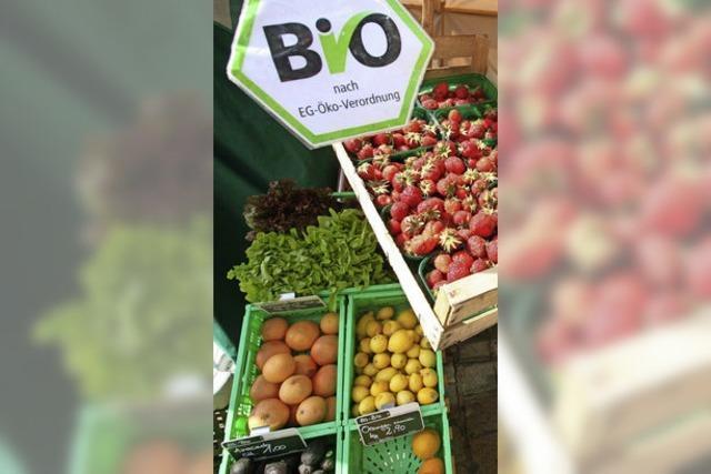 Der deutsche Ökolandbau kommt nur langsam voran