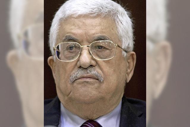 Abbas tritt als PLO-Chef vorerst zurück