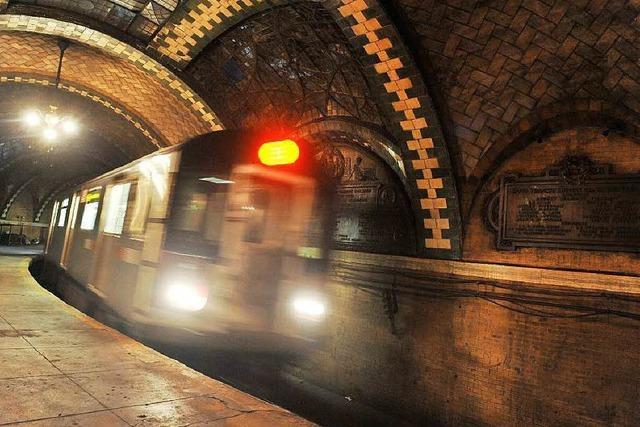 Aktivisten wollen New Yorks U-Bahn grün machen