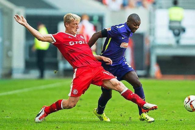 SC Freiburg gewinnt glücklich in Düsseldorf mit 2:1