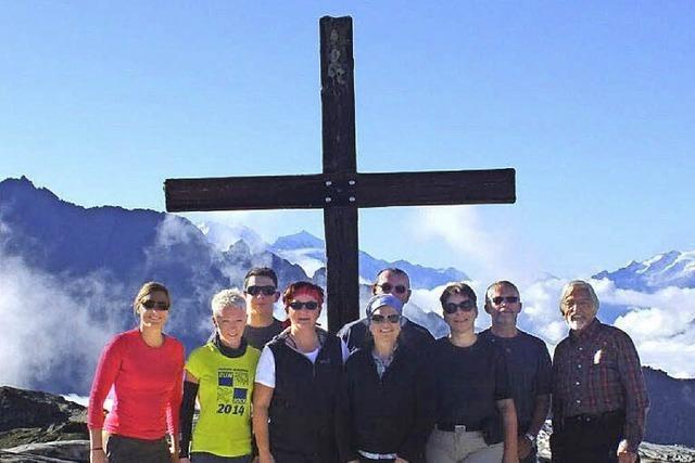 Seelbacher Bergwanderer wollten hoch hinaus