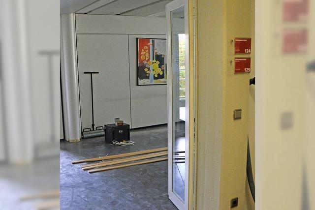 Rathausführung bald auf einer Etage