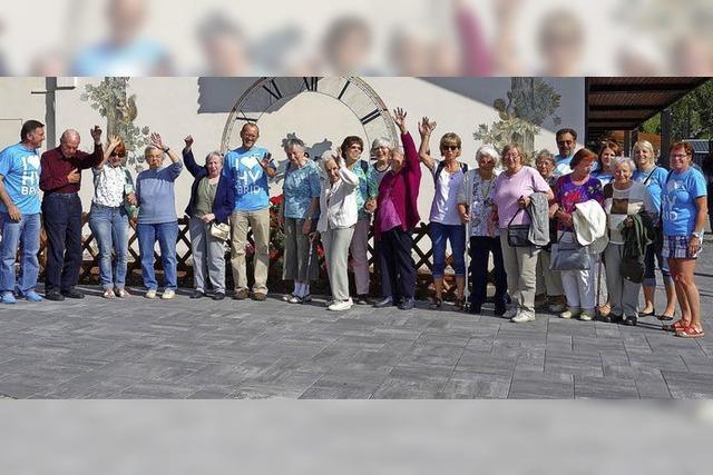 Mit 15 Senioren auf das Ausflugsboot