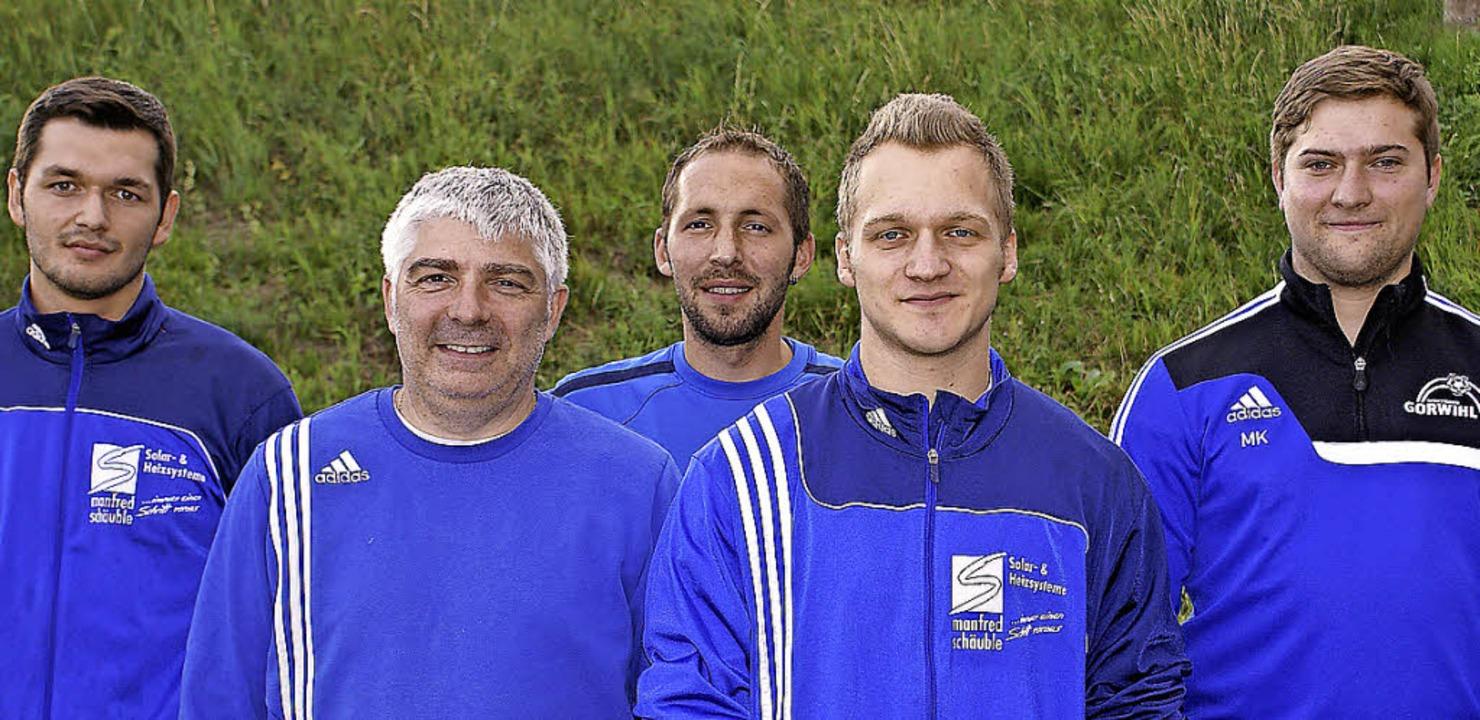 Gut vorbereitet ist der SV Görwihl für...ge   Adrian Frank und Lukas Bliestle    | Foto: Werner Probst