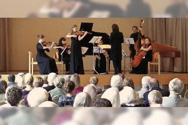 Musik und Landschaft im Einklang