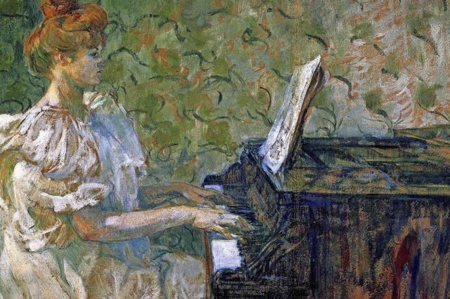 Arbeiten von Henri Toulouse-Lautrec im Kunstmuseum Bern