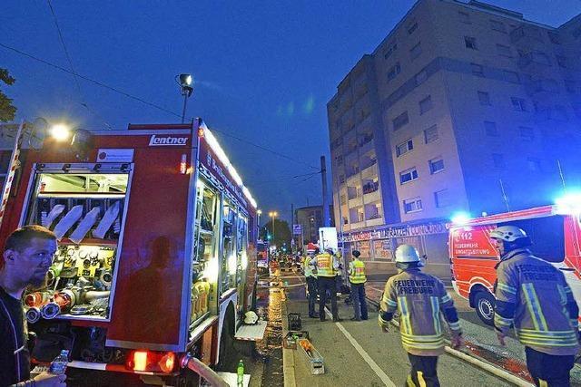 Hochhausbrand in Freiburg: Polizei nimmt Verdächtigen fest