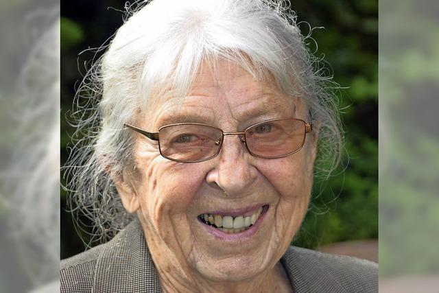 Eine badische Weinkönigin wird 90 Jahre alt