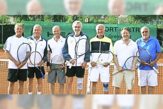 Herren 60 in der Badenliga