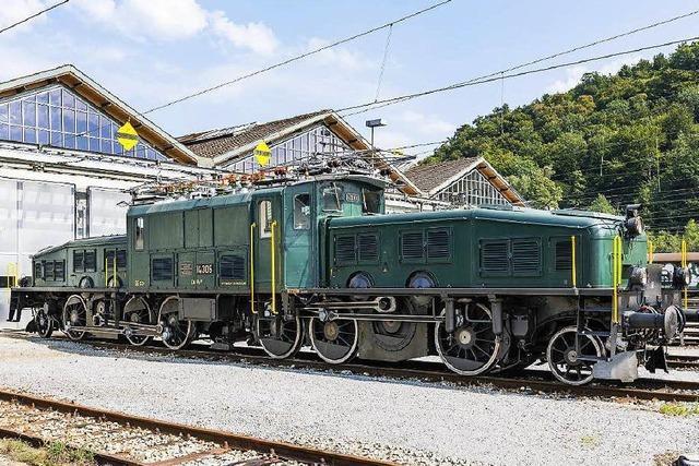 Krokodil zieht historischen Zug auch durch Südbaden