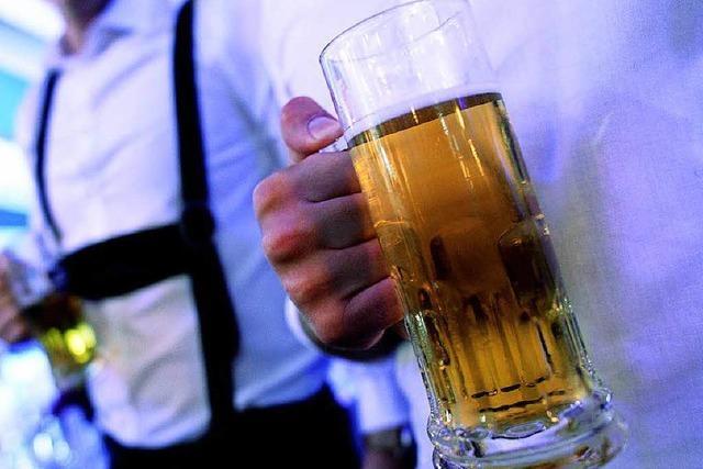 Bier darf nicht als