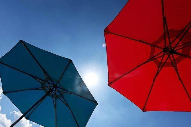 Sonnenbad für Südbaden – Am Wochenende wieder Hitzegewitter
