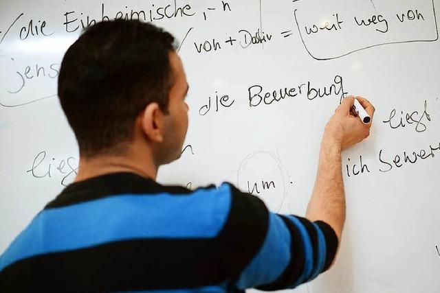 Flüchtlinge mit Sprachkenntnissen haben auch Chancen auf einen Job