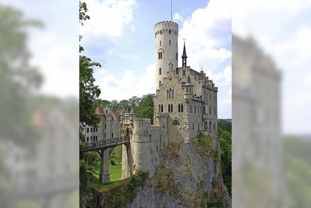 Schloss Lichtenstein auf der Alb