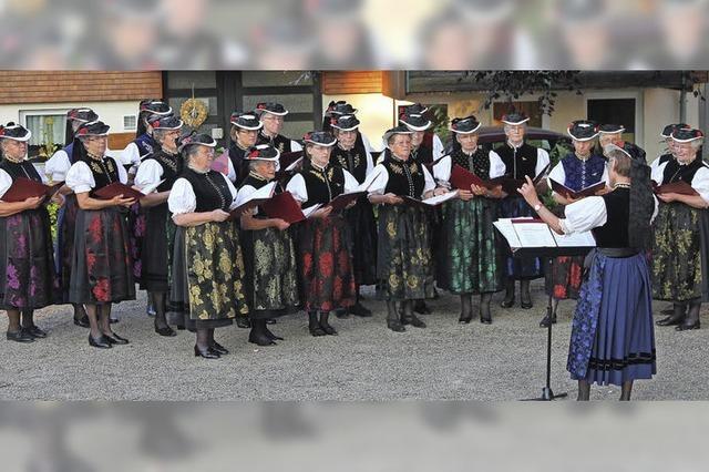 Konzert mit dem Landfrauenchor St. Märgen