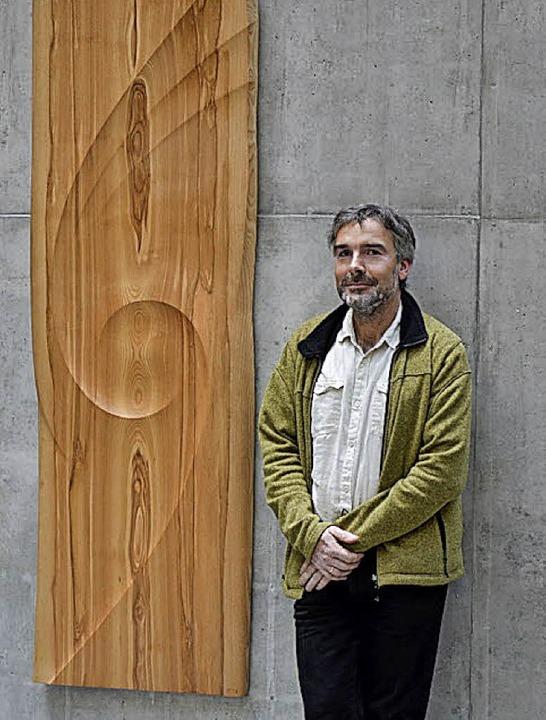 Der Künstler Reinhard Pontius aus Dresden.  | Foto: Foto/Skizze: privat