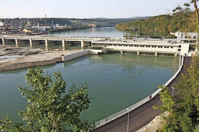 Rundgang durchs Wasserkraftwerk Rheinfelden