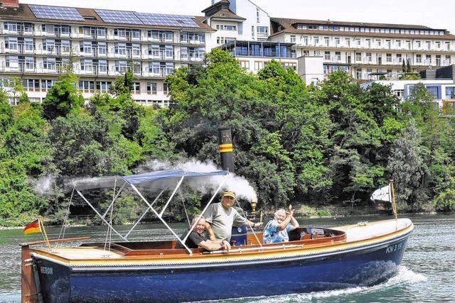 Mit dem Dampfschiff auf dem Rhein unterwegs