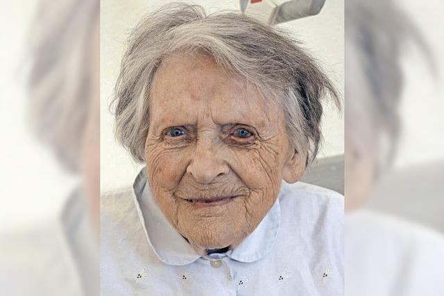 Klara Schmies wird 100 Jahre