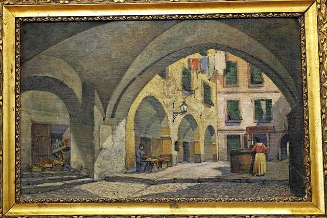 Breisach kauft Gemälde von Fritz Roth