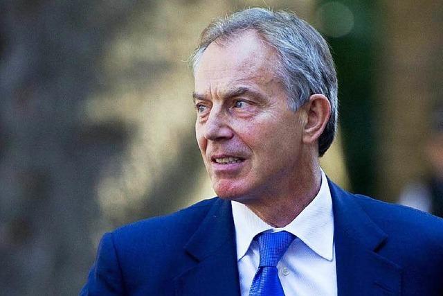 Tony Blair bemüht sich um Waffenstillstand in Nahost