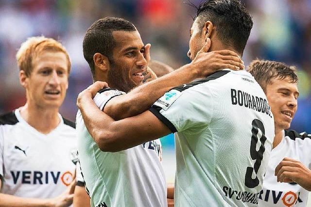 Der SV Sandhausen spielt vorne mit in Liga zwei