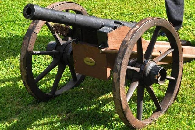 Der Mann mit den Kanonen