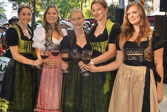 Badens größtes Weinfest ist in vollem Gang