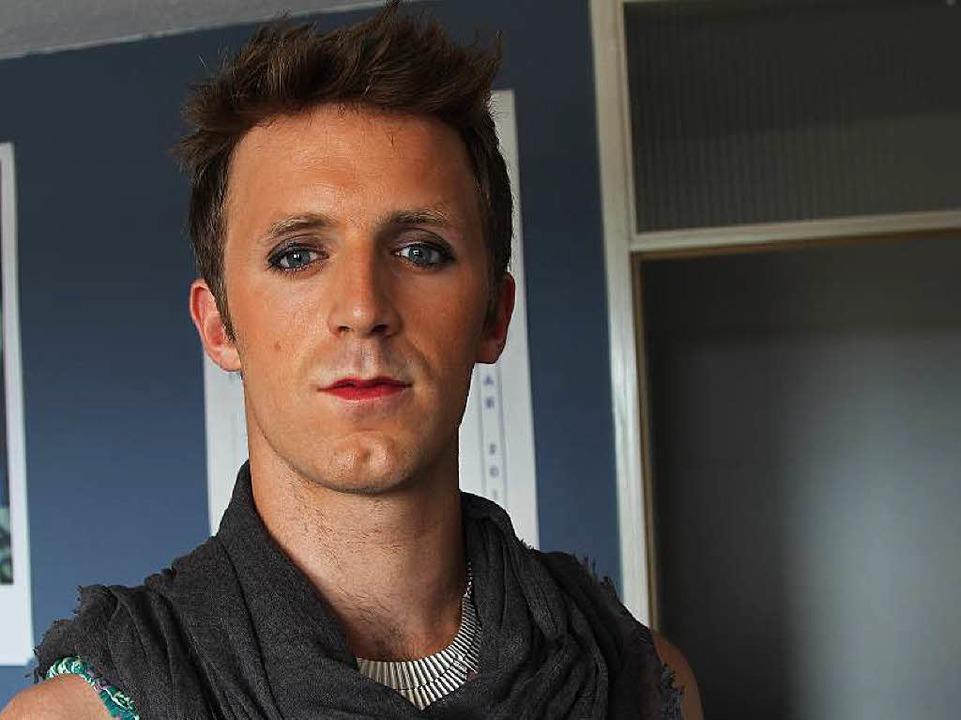Nachher: Clément geschminkt – und ohne  Rollenzuweisung   | Foto: François Menu