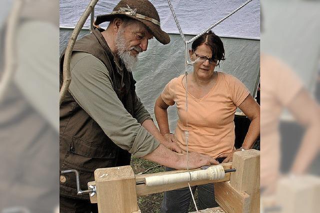 Altes Handwerk selbst ausprobieren