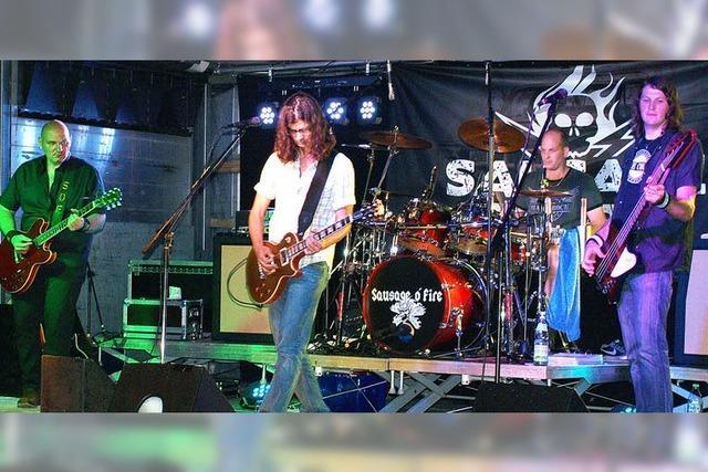 Rockmusik in lauer Sommernacht