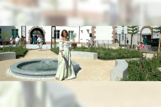 Historischer Garten spannt Bogen in die Gegenwart