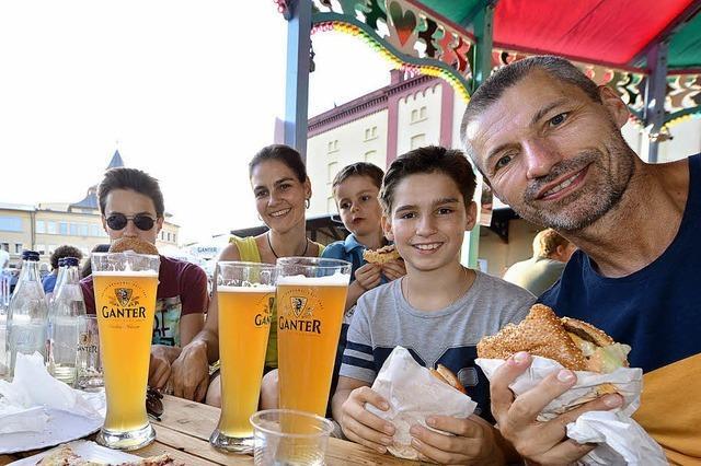 Brauerei Ganter feiert ihr 150-jähriges Bestehen groß und ausgelassen