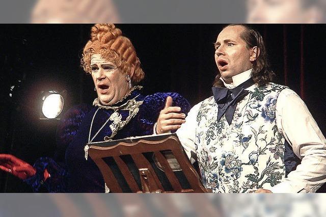 Amüsante Parodie auf den Opernbetrieb