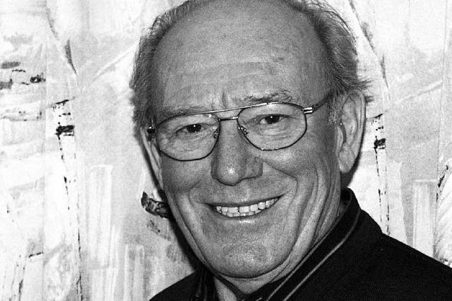 Der ehemalige Justizminister Heinz Eyrich ist tot