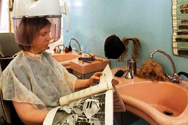 Worüber Menschen beim Friseur reden