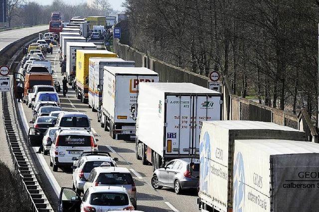 Behörde rechnet wegen Sanierung mit langen Staus auf der A5