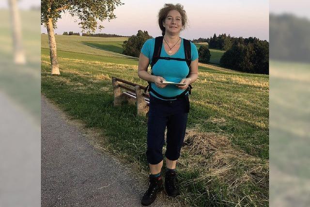 Meditativ und entspannt: Wandern mit Beate Jacoby