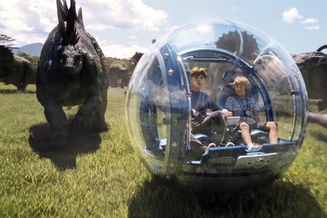 Komödien und Abenteuerfilme im Stadtpark
