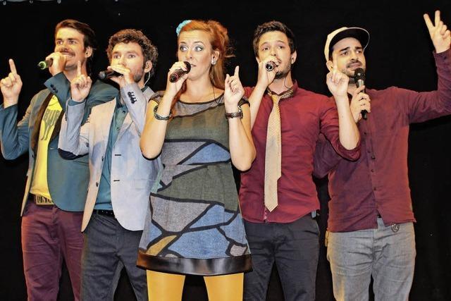 Mitreißende A-cappella-Musik und Oldies