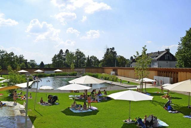 Naturbad in Riehen - die etwas andere Urlaubserfahrung