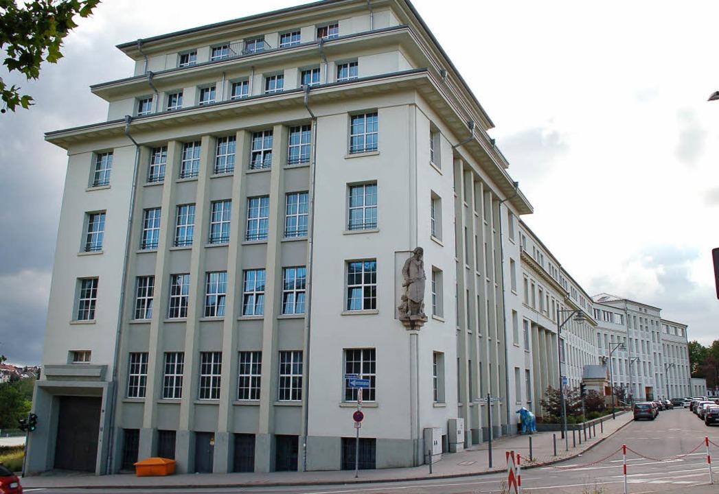 Die einstige Schuhfabrik Rheinberger     Foto: Rüskamp (2)/Stadt Pirmasens